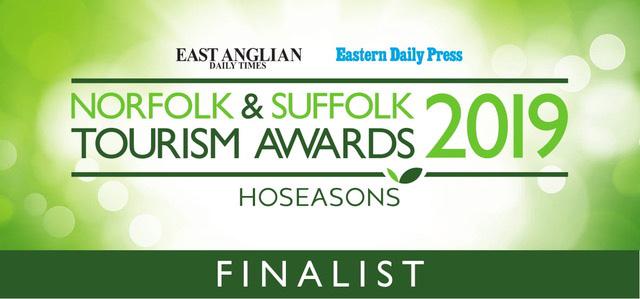 Norfolk & Suffolk Tourism Awards 2019 - Finalist